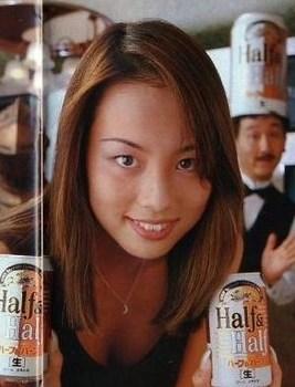 米倉涼子の整形2007年キャンペーンガール画像