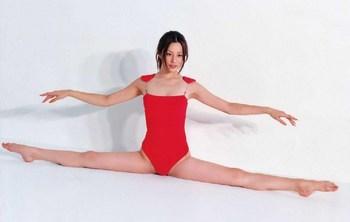 米倉涼子の整形赤い水着の画像
